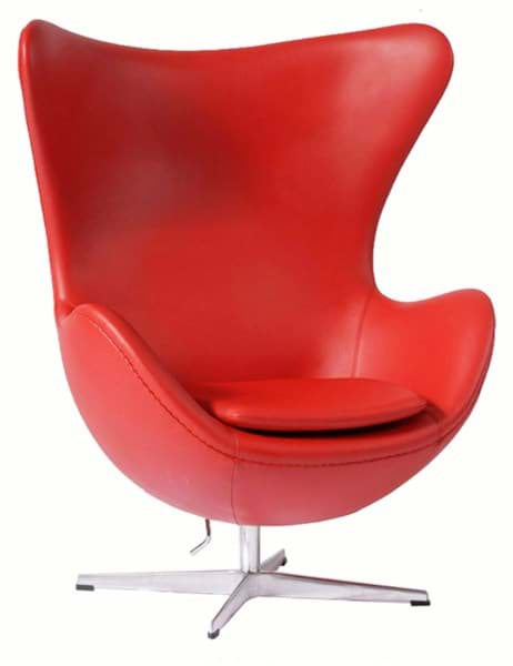 Arne Jacobsen Egg Chair (1958)の画像