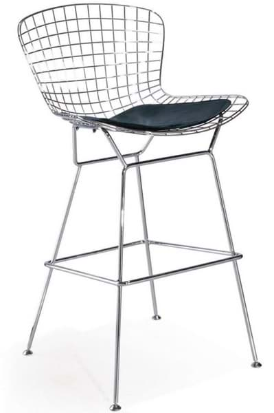 Harry Bertoia Stool Wire Barhocker (1952)の画像