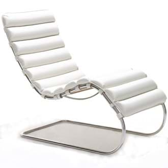 صورة Mies van der Rohe MR Chaise Lounge Armless (1932)