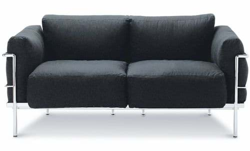 Picture of Le Corbusier 2-Sitzer Sofa Grand Confort (1928)
