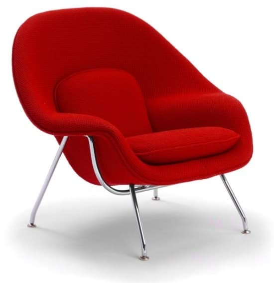 Eero Saarinen Womb Chair (1948)の画像