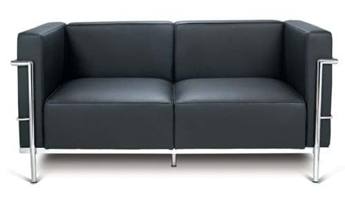 Picture of Le Corbusier Sofa Grande LC3 , 2-Sitzer (1928)