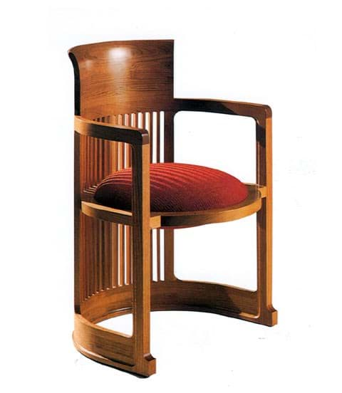Afbeelding van Frank Lloyd Wright Barrel Chair (1937)