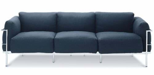Le Corbusier 3-Sitzer Sofa Grand Confort (1928)の画像