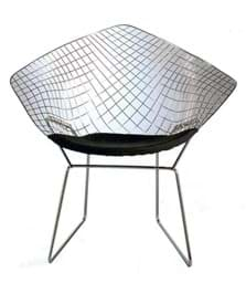 Bild von Harry Bertoia Stuhl, Chair Diamond (1952)