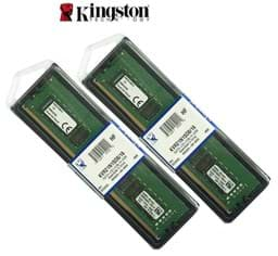 صورة Kingston 2 x 32GB Unbuffered memory ram DDR4 2133MHz
