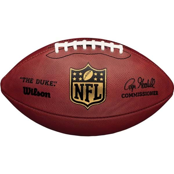 "Picture of ""The Duke"" Official NFL Game Football"