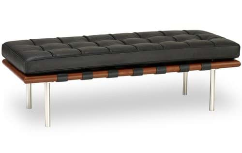 Picture of Ludwig Mies van der Rohe Barcelona Bench, Sitztbank (1930)