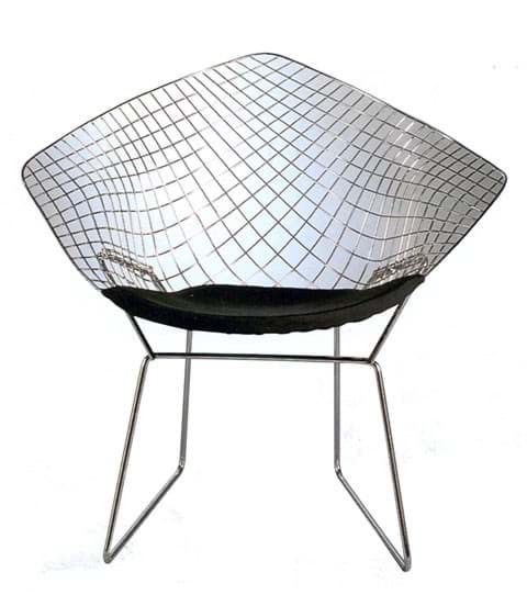 Harry Bertoia Stuhl, Chair Diamond (1952) की तस्वीर