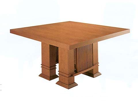 Image de Frank Lloyd Wright Square Table (1917)
