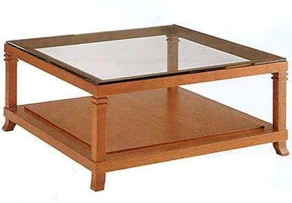 Picture of Frank Lloyd Wright Robie 2 Tisch mit Glasplatte (1917)