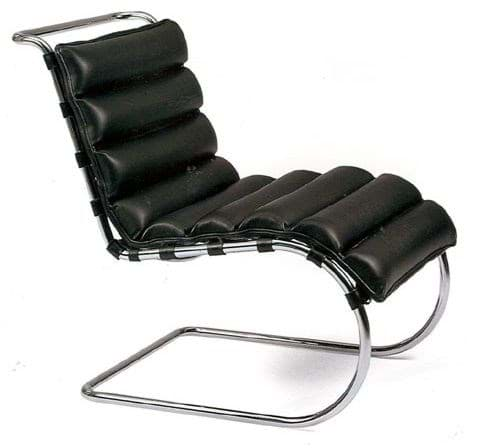 Image de Mies van der Rohe MR Lounge Chair (1931)