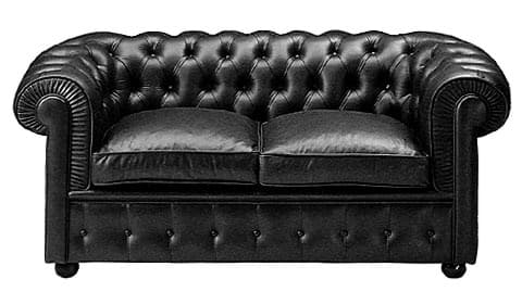 Picture of Walter Gropius Chesterfield Sofa (2-Sitzer)