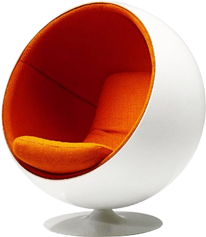 Изображение Eero Aarnio Ball Chair, Kugelsessel (1966)