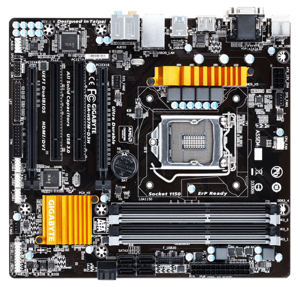 Picture of Mainboard GA-H97M-D3H