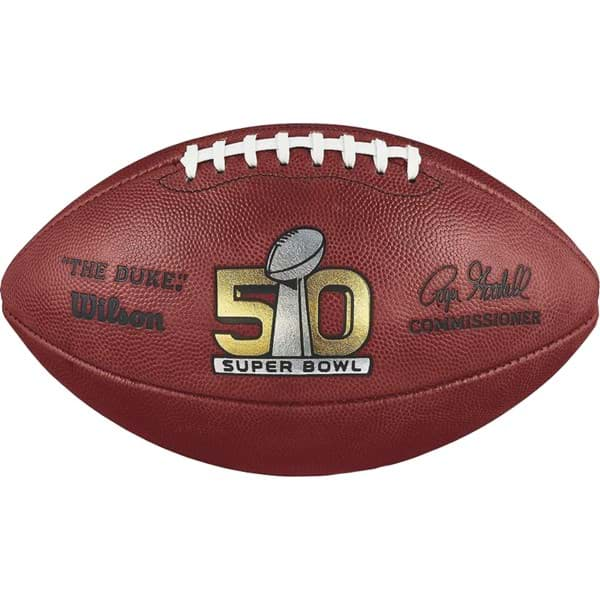 Picture of SUPER BOWL 50 GAME FOOTBALL